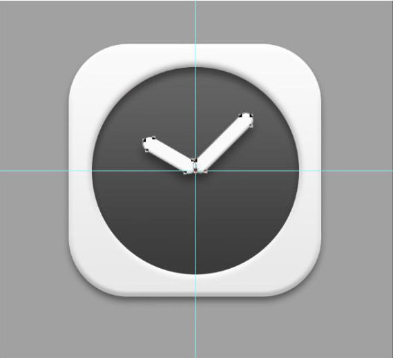 北京网页设计培训 时钟icon图标绘制教程