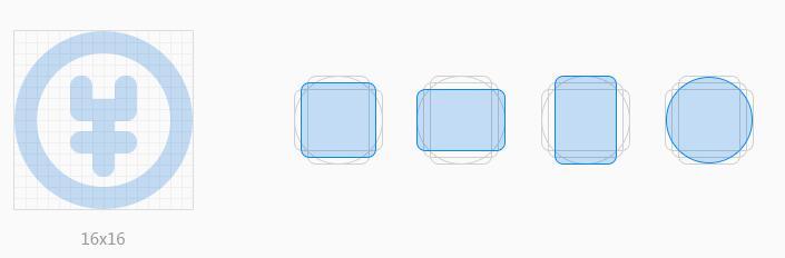 资讯公告 北京ui设计培训 如何画好一套线性图标   如果只绘制单一